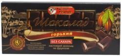 Шоколад, Грант Сервис 100 г классический горький на фруктозе в коробочке