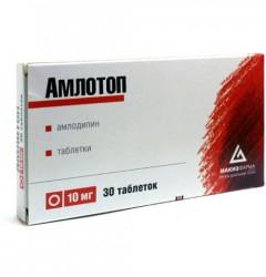 Амлотоп, табл. 10 мг №30